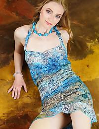 Rebecca G naked in glamour..