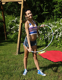 HULA AND HOOPING with..